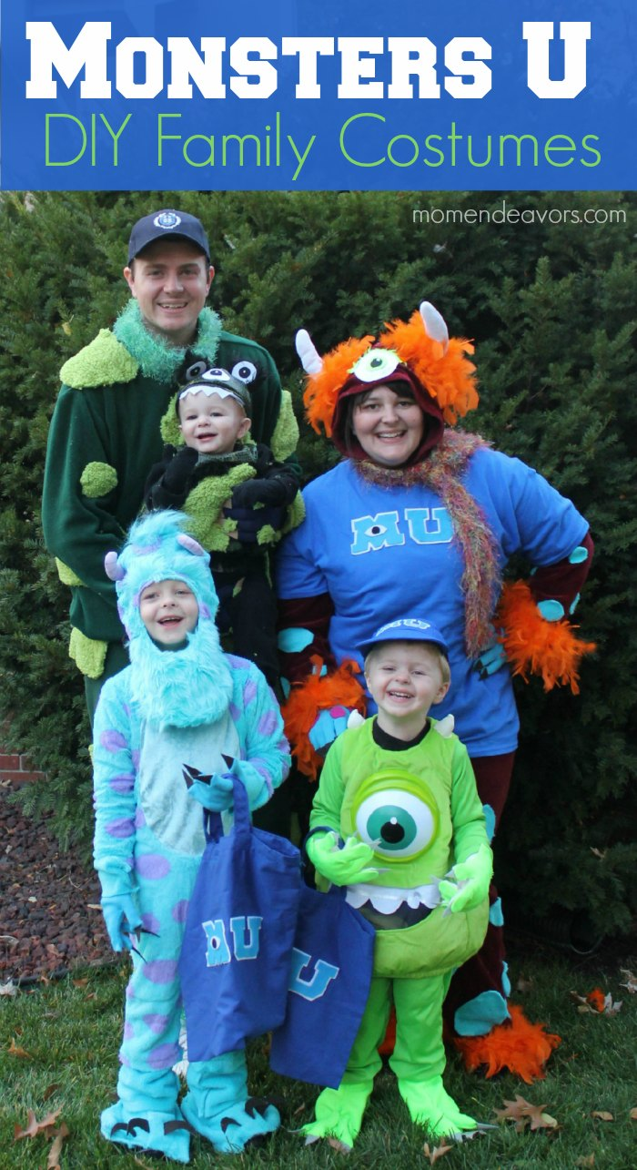 Diy monsters university family costumes solutioingenieria Gallery