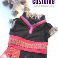 DIY No-Sew Disney Frozen Kristoff Costume