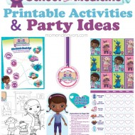 Doc McStuffins School of Medicine Week – Free Printables & Party Ideas