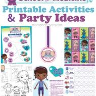Doc McStuffins School of Medicine Week – Free Printables & Party Ideas