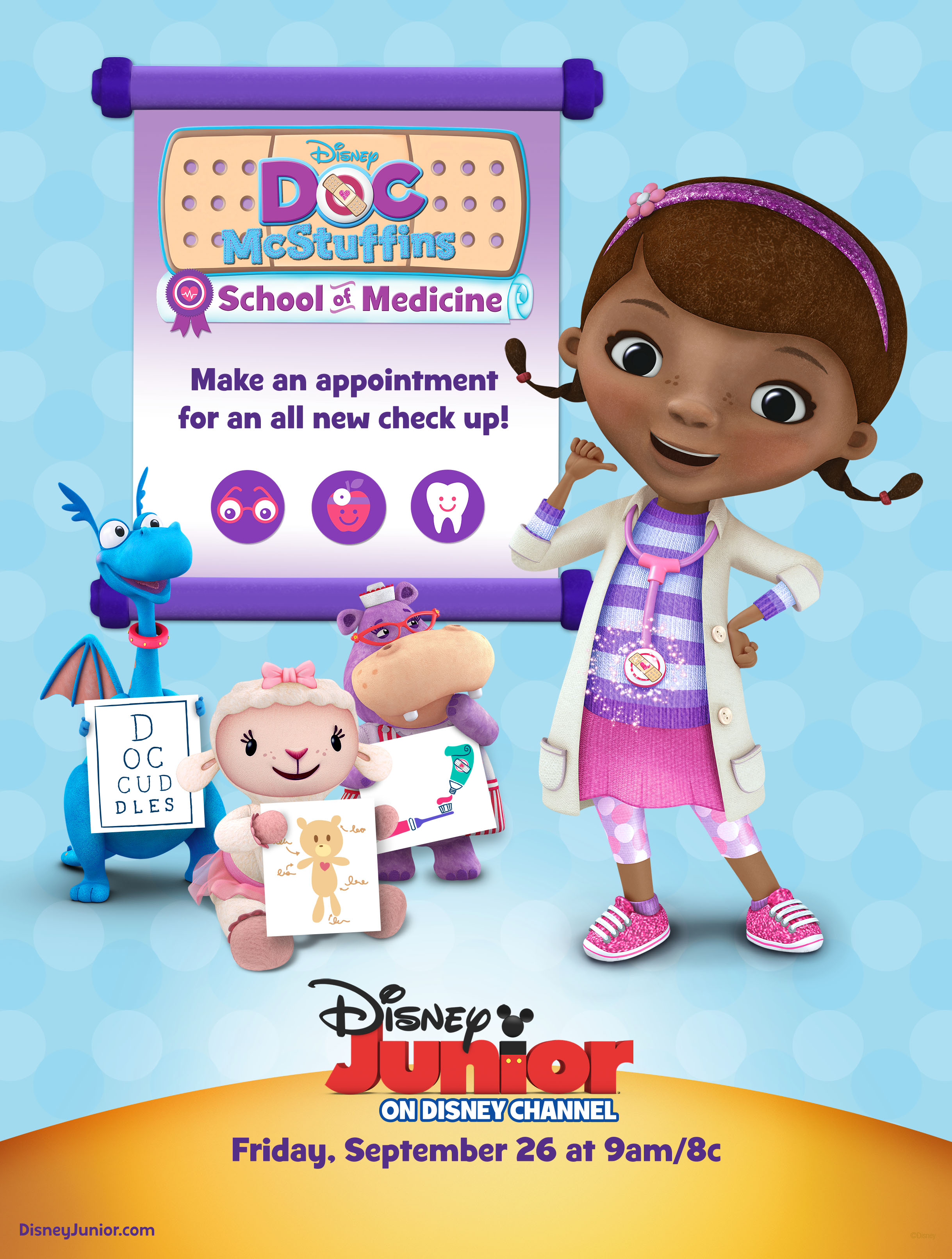 Doc mcstuffins coloring pages to color online - Doc School Of Medicine Key Art 4