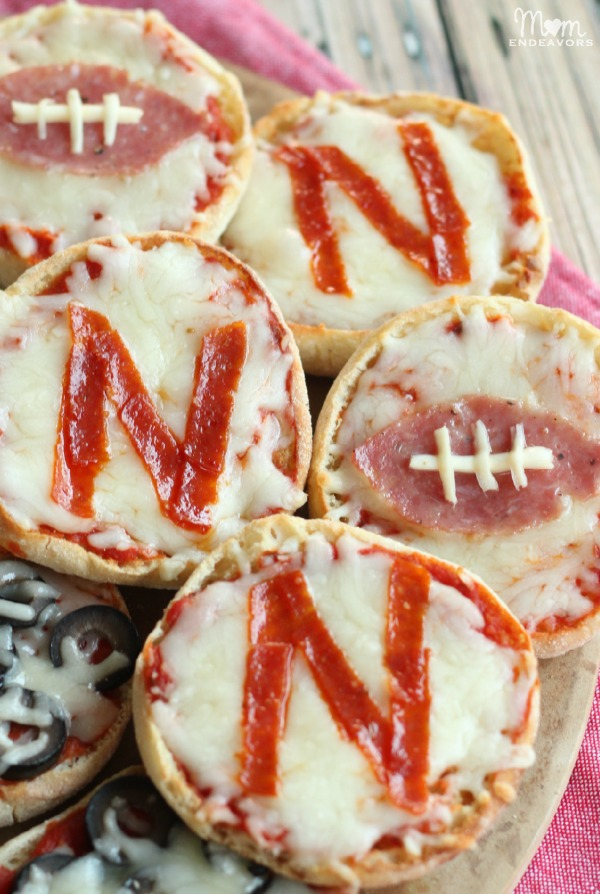 Football Mini Pizzas