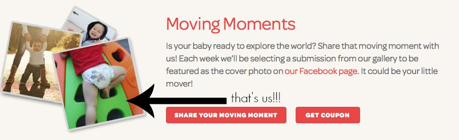 Huggies Moving Moments Campaign