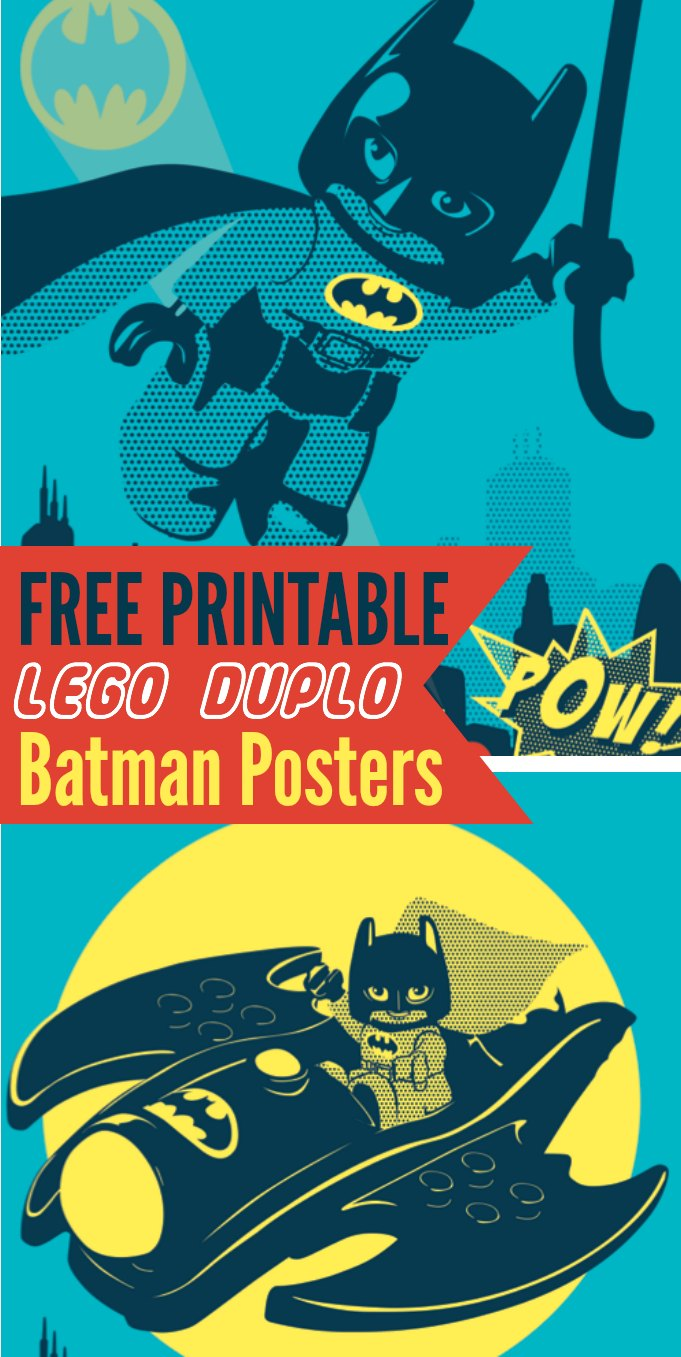 LEGO Batman Free Printables