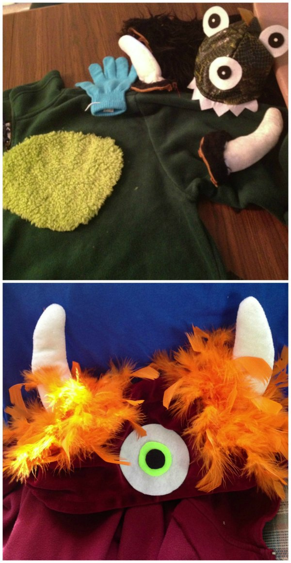 Making Monsters Costumes