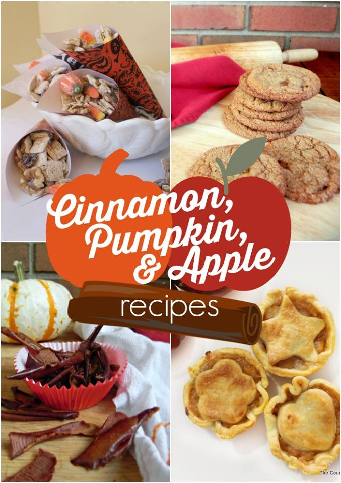 Pumpkin, Cinnamon, & Apple Fall Recipes