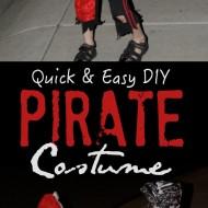 Quick & Easy DIY Pirate Halloween Costume