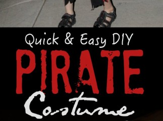 Quick & Easy DIY Pirate Costume