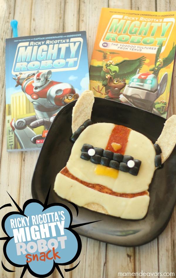 Ricky Ricotta Books Mighty Robot Snacks