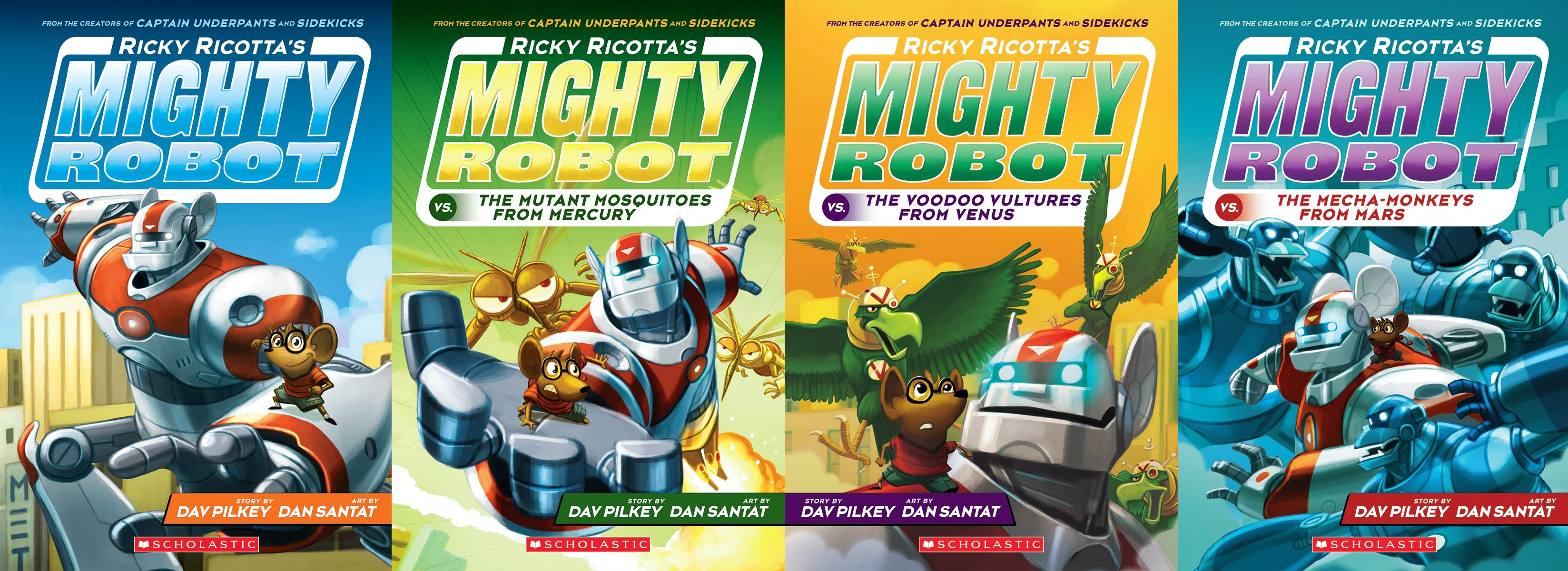 Ricky Ricotta Book Series Amp Mighty Robot Snack