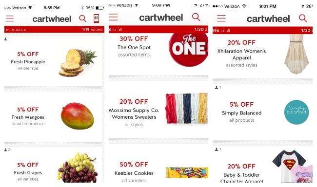Target Cartwheel App Offers