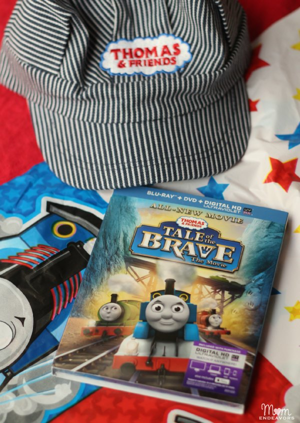 Thomas Tale of the Brave DVD