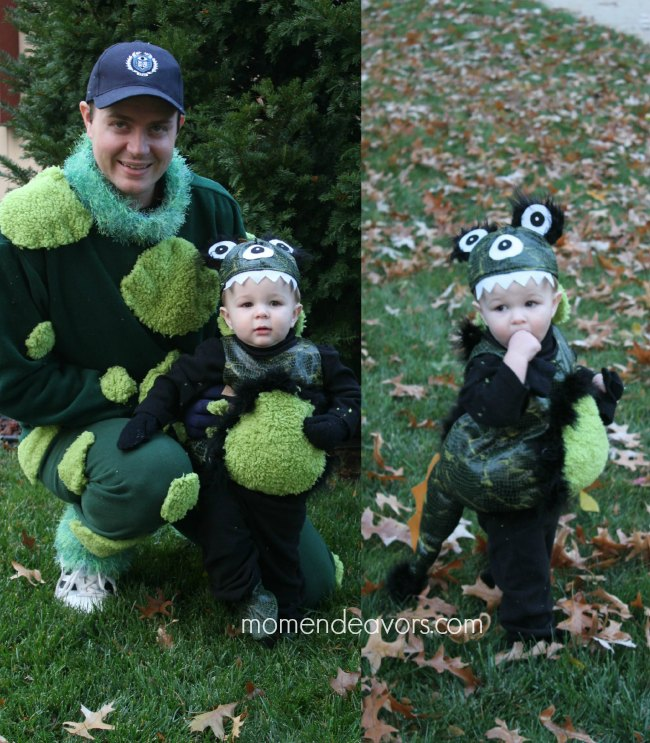 Upcycled Monsters Costumes
