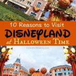 10 Reasons to Visit Disneyland at Halloween Time