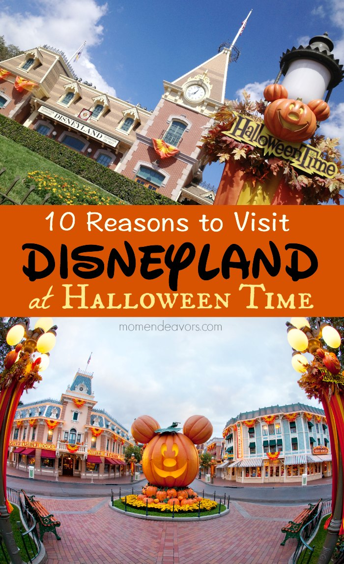 10 Reasons to Visit Disneyland at Halloween Time