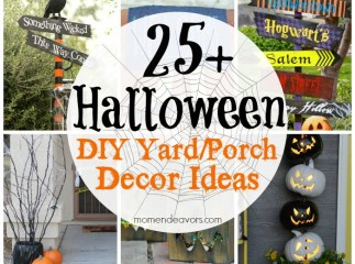 25+ DIY Halloween Outdoor Decor Ideas