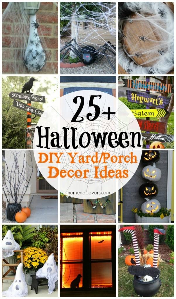 25 Diy Halloween Yard Amp Porch Decor Ideas