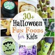 30+ Halloween Fun Food Recipes for Kids!