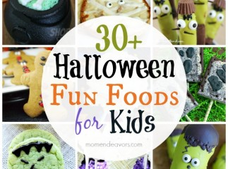 30+ Halloween Fun Foods for Kids