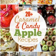 20+ Caramel & Candy Apple Recipes