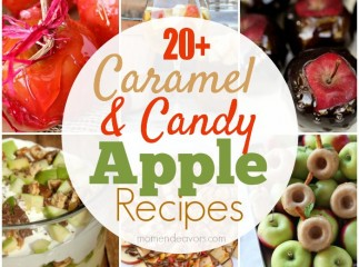 Caramel Candy Apple Recipes