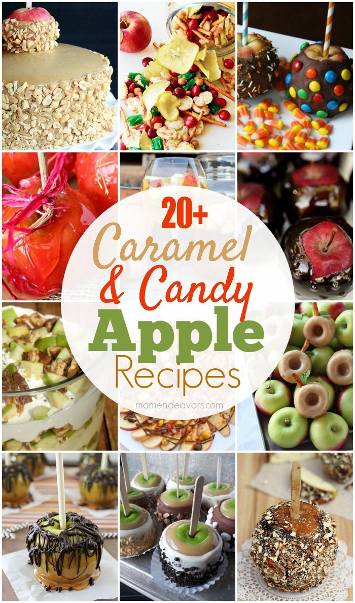 Caramel Candy Apple Recipes