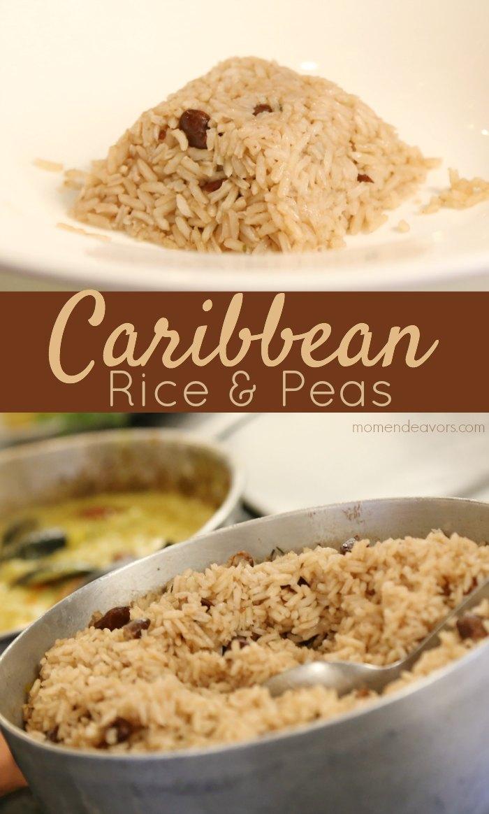 Caribbean Rice & Peas Recipe