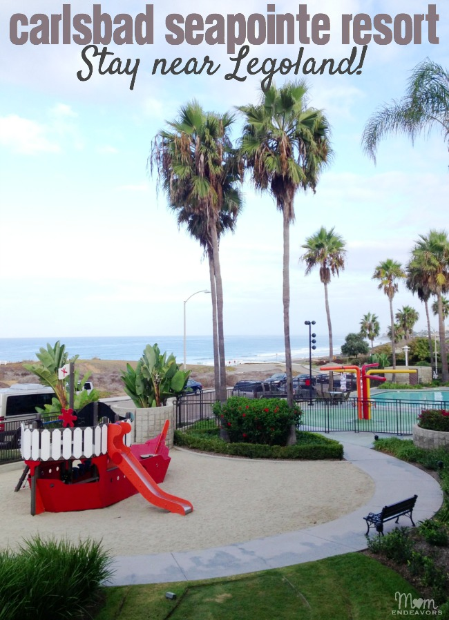 Carlsbad Seapointe Resort near Legoland {Hotel Review