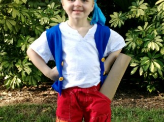 DIY Cubby costume from Jake and the Never Land Pirates
