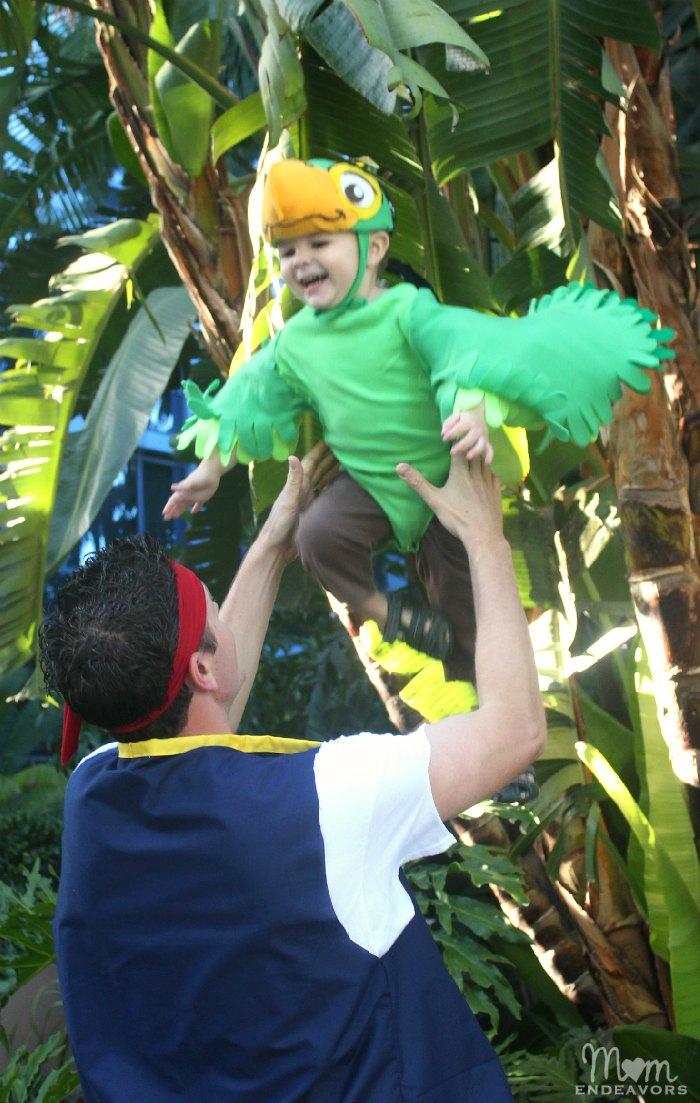 DIY Disney Jake & Skully Costumes