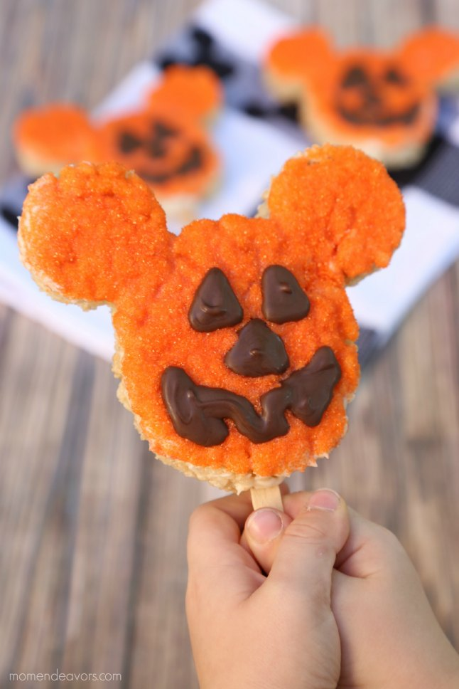 DIY Disney Rice Krispies Treat