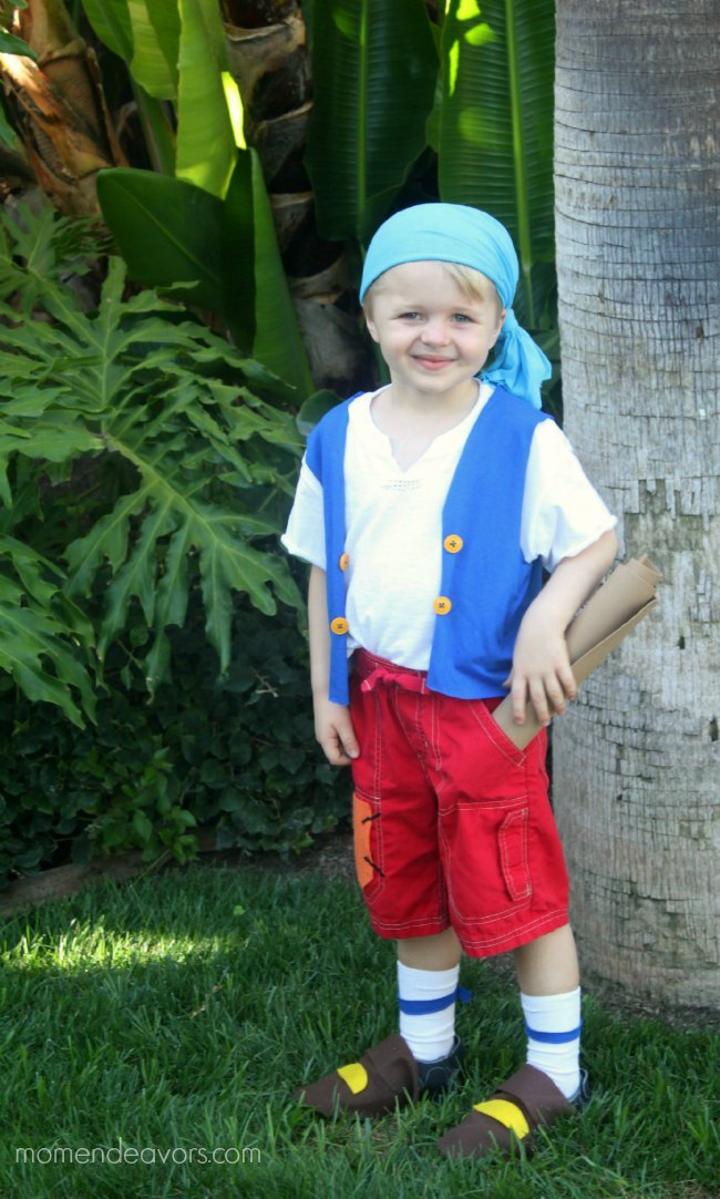 Diy no sew jake and the never land pirates cubby costume diy no sew cubby costume solutioingenieria Choice Image