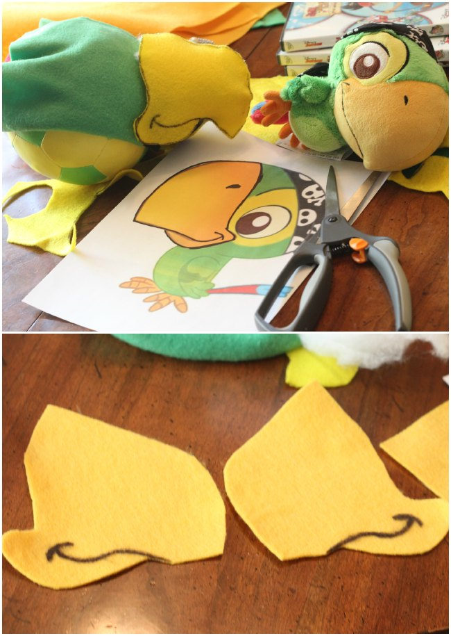 DIY Skully Parrot Hat