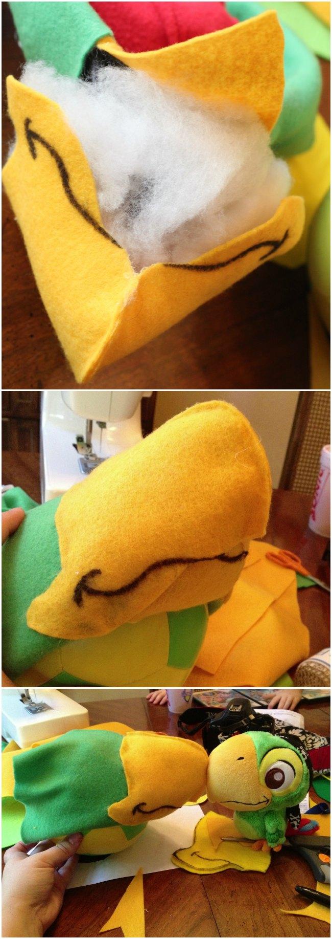 DIY Skully costume beak