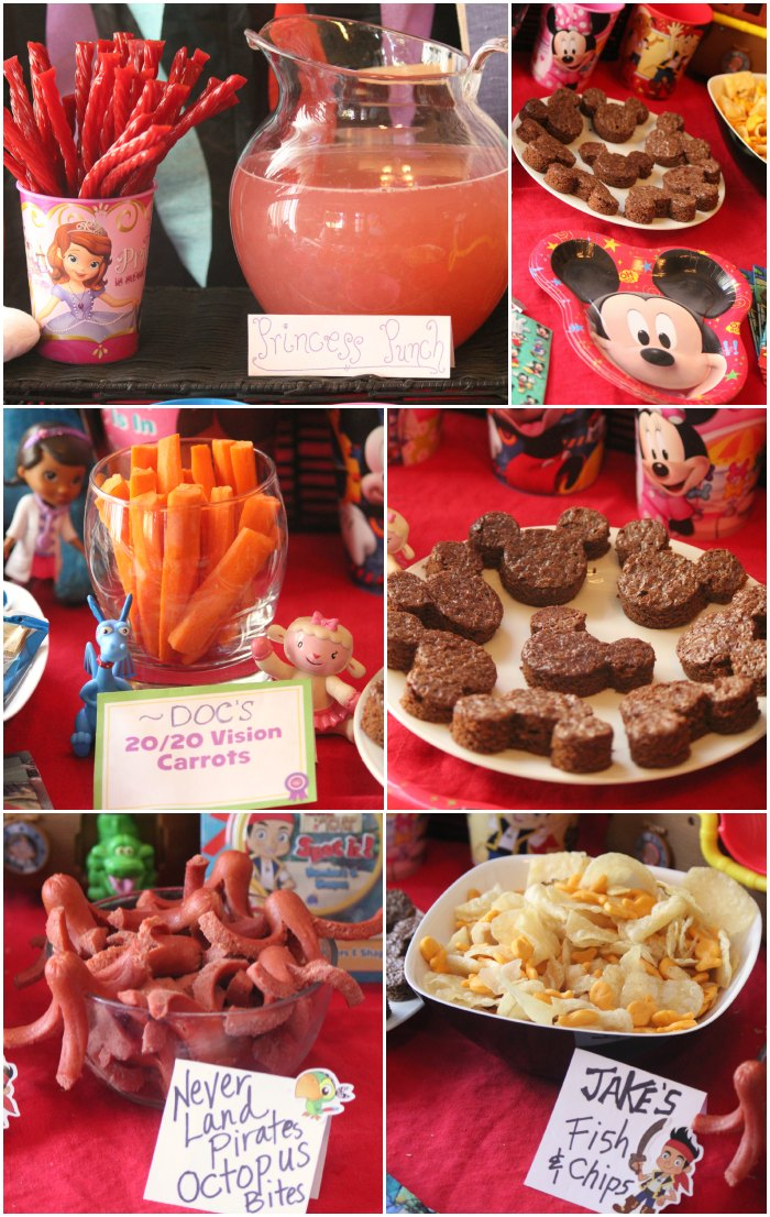 Disney Junior Party Food Ideas