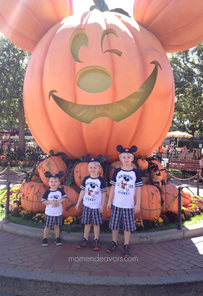 Great Pumpkin at Disneyland