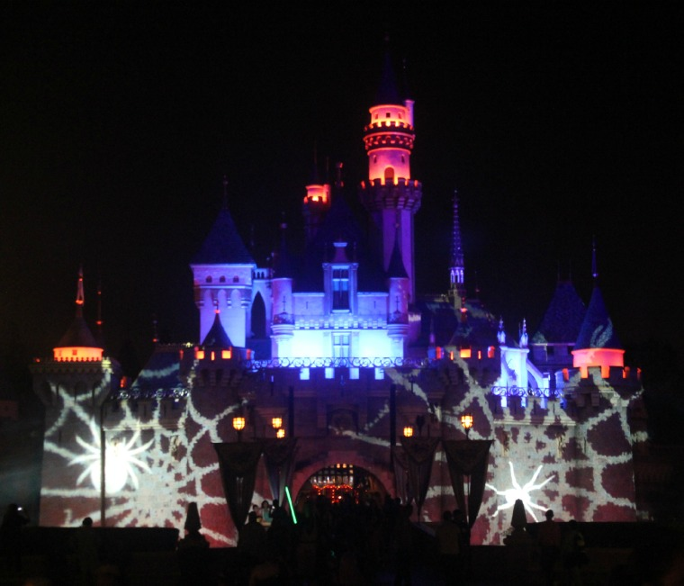 Haunted Disneyland Castle