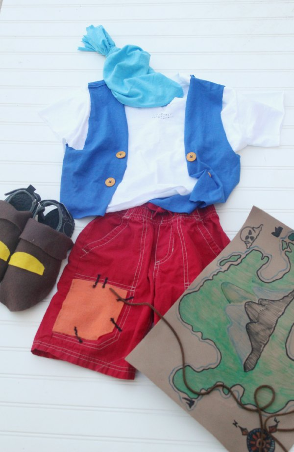 Jake and the Never Land Pirates Cubby Costume