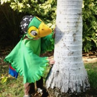 DIY Skully Parrot Costume from Disney's Jake & the Never Land Pirates