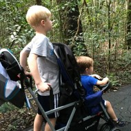 Family Travel Gear – Joovy Caboose Ultralight Compact Tandem Stroller