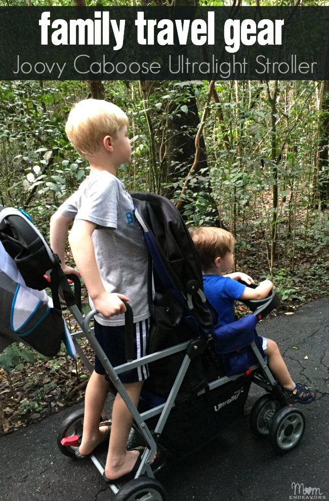 Joovy Ultralight Caboose Compact Tandem Stroller