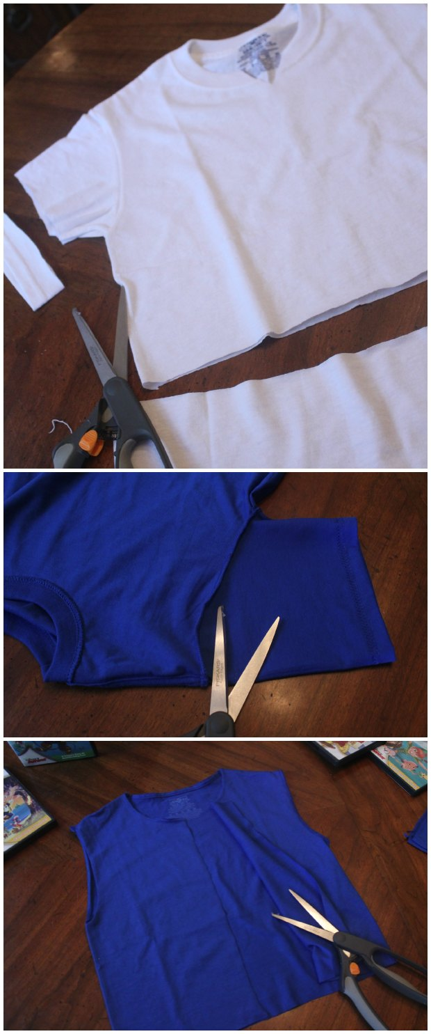 Making a pirate costume