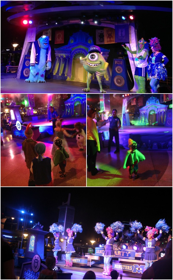Monsters University Dance Party