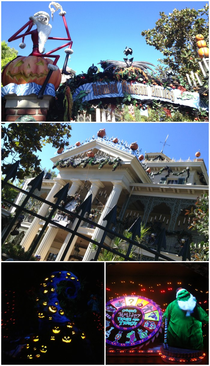 Nightmare Before Christmas at Disneyland