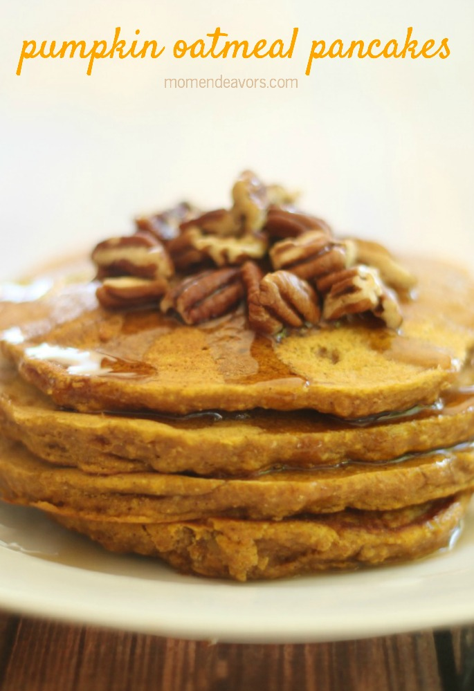 Pumpkin Oatmeal Pancakes2
