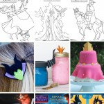 Sleeping Beauty Printables, Crafts, & Coloring Pages