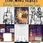 Star Wars Rebels Printable Activity Sheets & Coloring Pages