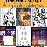 Star Wars Rebels Printable Activities & Coloring Pages