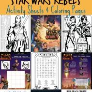 Star Wars Rebels Printable Activities & Coloring Pages
