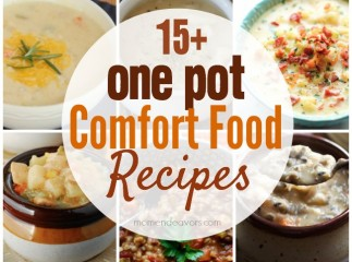 15+ One Pot Comfort Food Recipes